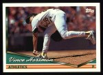 1994 Topps #436  Vince Horsman  Front Thumbnail