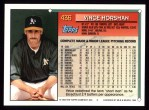 1994 Topps #436  Vince Horsman  Back Thumbnail