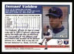 1995 Topps #66  Ismael Valdes  Back Thumbnail
