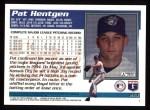 1995 Topps #213  Pat Hentgen  Back Thumbnail