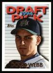 1995 Topps #406  Doug Webb  Front Thumbnail