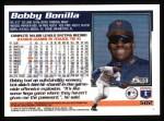 1995 Topps #502  Bobby Bonilla  Back Thumbnail