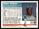 1995 Topps #506  Nigel Wilson  Back Thumbnail