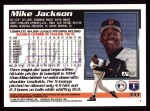 1995 Topps #333  Mike Jackson  Back Thumbnail