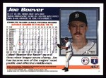 1995 Topps #457  Joe Boever  Back Thumbnail