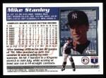 1995 Topps #142  Mike Stanley  Back Thumbnail