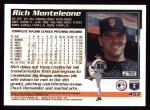 1995 Topps #453  Rich Monteleone  Back Thumbnail