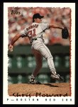 1995 Topps #177  Chris Howard  Front Thumbnail