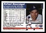 1995 Topps #628  Rafael Bournigal  Back Thumbnail