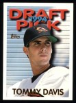 1995 Topps #555  Tommy Davis  Front Thumbnail