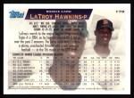 1995 Topps #179  LaTroy Hawkins  Back Thumbnail