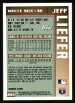 1996 Topps #243  Jeff Liefer  Back Thumbnail