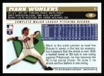 1996 Topps #49  Mark Wohlers  Back Thumbnail