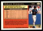 1997 Topps #173  Omar Vizquel  Back Thumbnail