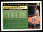 1997 Topps #217  Armando Reynoso  Back Thumbnail