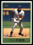 1997 Topps #444  Cliff Floyd  Front Thumbnail