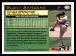 1997 Topps #362  Scott Sanders  Back Thumbnail