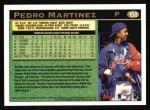 1997 Topps #158  Pedro Martinez  Back Thumbnail