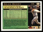 1997 Topps #248  Sean Berry  Back Thumbnail