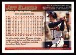 1998 Topps #52  Jeff Blauser  Back Thumbnail