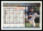 1998 Topps #379  Mark Langston  Back Thumbnail