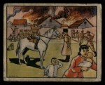 1938 Gum Inc. Horrors of War #244   Russians Burn Village in Manchukuo Front Thumbnail