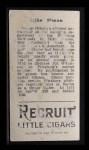 1912 T207  Mike Simon    Back Thumbnail