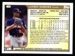 1999 Topps #169  LaTroy Hawkins  Back Thumbnail
