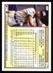 1999 Topps #383  Marquis Grissom  Back Thumbnail