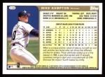 1999 Topps #338  Mike Hampton  Back Thumbnail