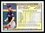 1999 Topps #372  John Thomson  Back Thumbnail