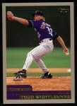 2000 Topps #310  Todd Stottlemyre  Front Thumbnail
