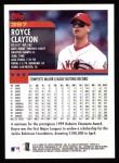 2000 Topps #397  Royce Clayton  Back Thumbnail
