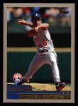 2000 Topps #248  Miguel Batista  Front Thumbnail
