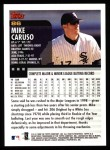 2000 Topps #86  Mike Caruso  Back Thumbnail