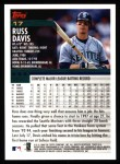 2000 Topps #17  Russ Davis  Back Thumbnail
