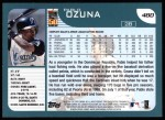 2001 Topps #480  Pablo Ozuna  Back Thumbnail