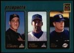 2001 Topps #375  Carlos Hernandez / Geraldo Guzman / Adam Eaton  Front Thumbnail