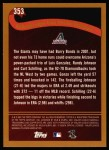 2002 Topps #353   Arizona - Playoff-Bound Back Thumbnail