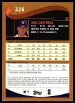 2002 Topps #328  Jake Gautreau  Back Thumbnail