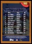 2002 Topps #343   -  Walker / Helton / Alou / Berk League Leaders Back Thumbnail