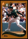 2002 Topps #215  Terrence Long  Front Thumbnail