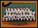 2002 Topps #645   Boston Red Sox Front Thumbnail
