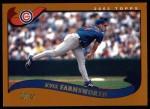 2002 Topps #486  Kyle Farnsworth  Front Thumbnail