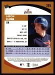 2002 Topps #315  Jason Maule   Back Thumbnail