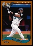 2002 Topps #260  Cliff Floyd  Front Thumbnail