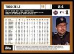 2002 Topps #84  Todd Zeile  Back Thumbnail