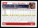 2004 Topps #52  Milton Bradley  Back Thumbnail