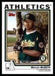 2004 Topps #314   -  Markus McBeth First Year Front Thumbnail