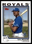 2004 Topps #323   -  Tydus Meadows First Year Front Thumbnail